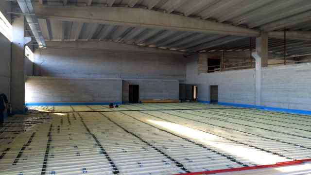 Impianto a pavimento industriale RDZ