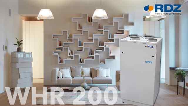 Ventilazione meccanica WHR 200