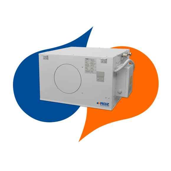 Deumidificatori senza ventilatore serie DWF