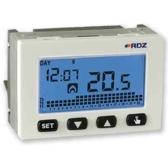 Wall-embedded Electronic Chrono-thermostat